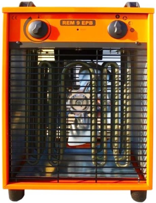 Nagrzewnica elektryczna 400v , 9 kW,800m3/h
